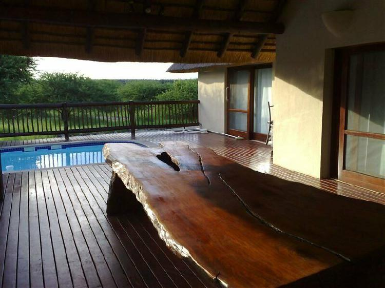 Two-bedroom house blyde wildlife estate