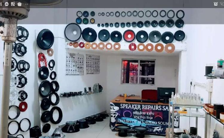 All Speaker repairs and hybrid products available new in