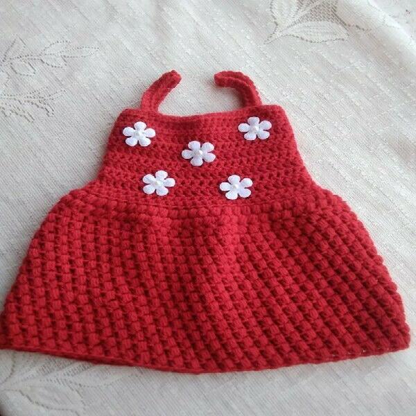 BABY CROCHET DRESSES