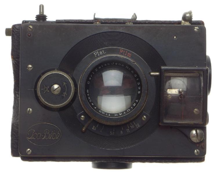 ICA-BEBE subminiature folding film vintage plate camera
