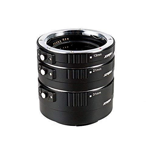Jorish Pro Auto Macro Extension Tube Kit for Canon EOS EF /