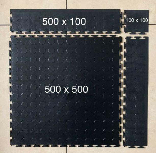 PVC interlocking floor mats