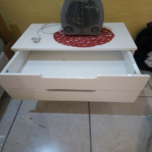 Pedestal and fan heater