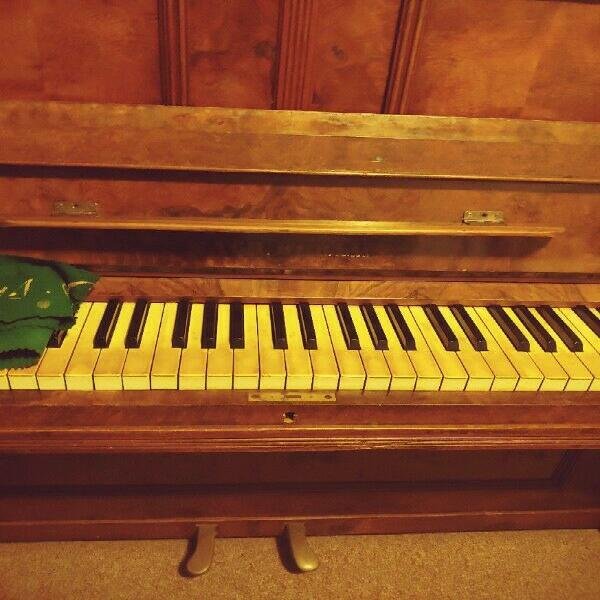 Piano. historic ex ww2