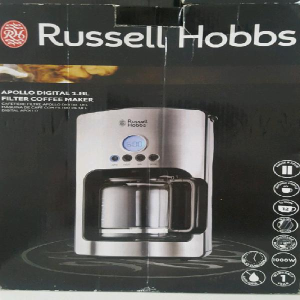 Russel hobbs apollo digital coffee machine