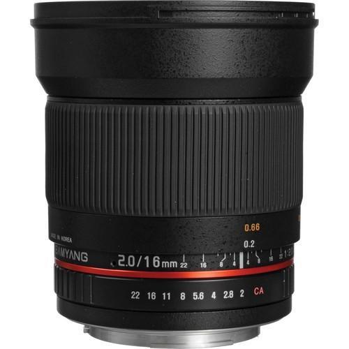 Samyang 16mm f/2.0 ED AS UMC CS (Fuji X)