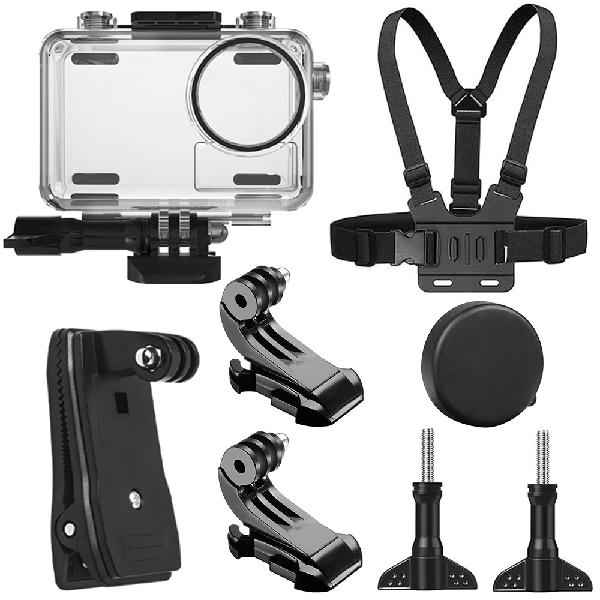 SheIngKa 40M Waterproof Protective Case Shell Backpack Clip
