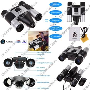 1.3m cmos 10x25 digital camera binoculars video recording
