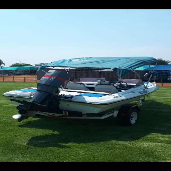 150hp six seater streeker speed boat with canopy