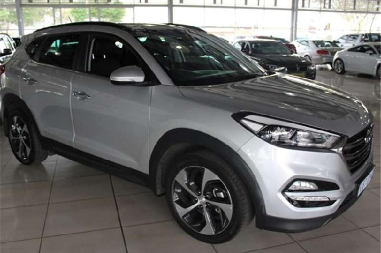 Hyundai tucson 1.6tgdi 4wd elite auto 2017