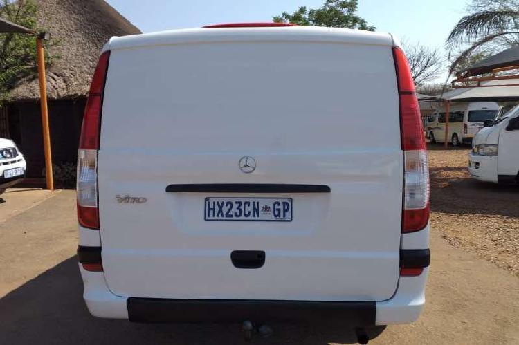 Mercedes benz vito 115 cdi 2.2 crew bus automatic 2005