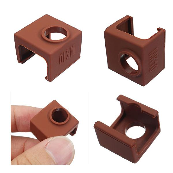 10pcs MK10 Coffee Color Silicone Protective Case For Heating