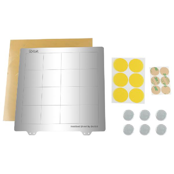 235*235mm heated bed platform hot bed steel plate with