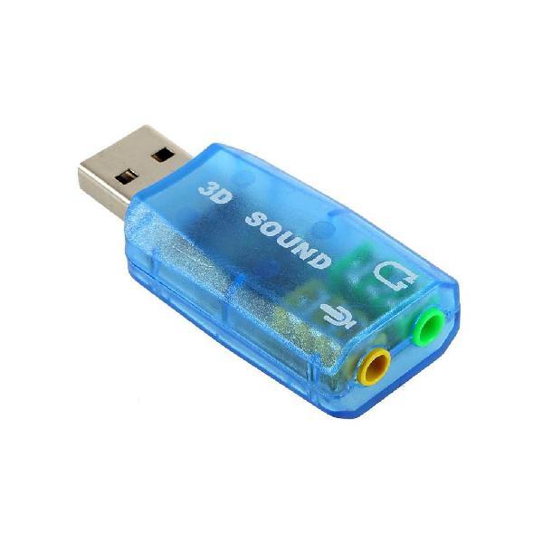 5.1 CHANNEL USB SOUND CARD