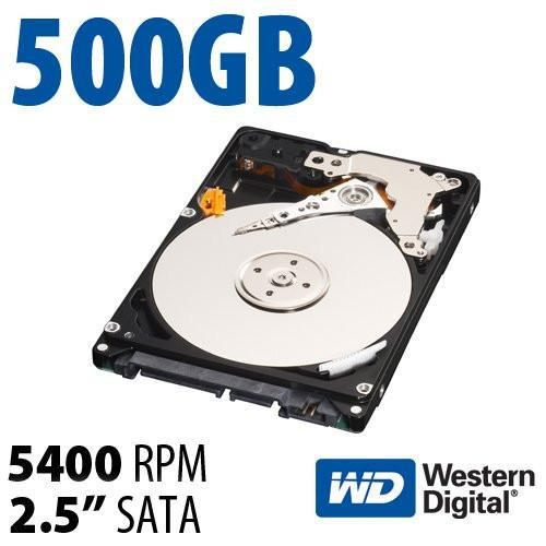 500gb 2.5 inch sata laptop hard drive (new)
