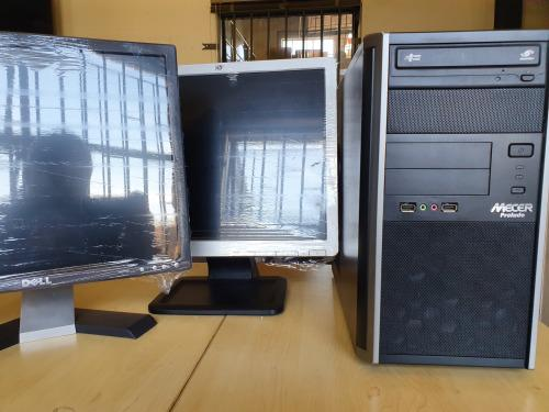 Bargain mecer prelude i5 desktop computers with lcd monitor