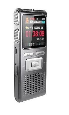 Digital voice recorder color 1.4 inch screen amr/wav/mp3/aac