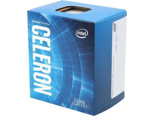 Intel celeron g4900 3.1ghz dual core 14nm coffee lake socket