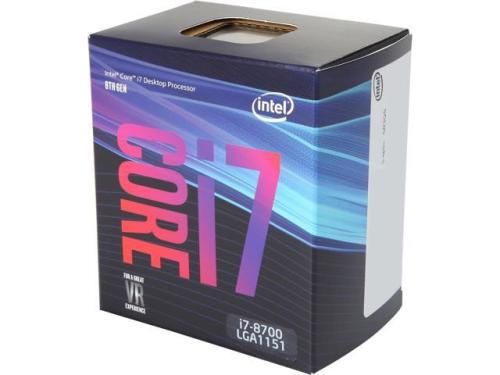 Intel core i7-8700t 2.40ghz coffe lake socket lga1151