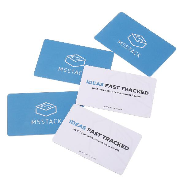 M5stack 5pcs 13.56mhz rfid contactless card smart cart for