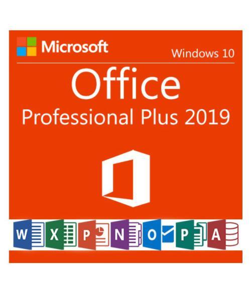 Microsoft Office 2019 Professional Plus - Lifetime License