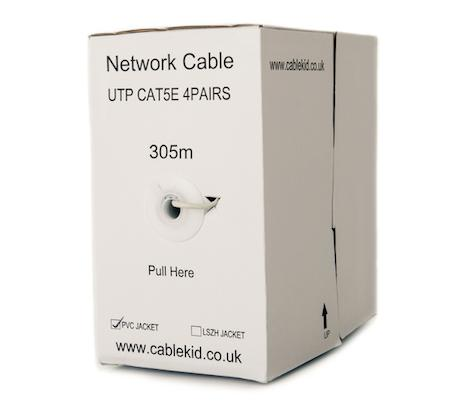 Network cable cat5 - 305 meter - box