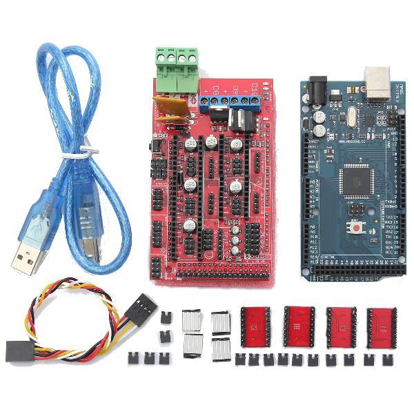 RAMPS 1.4 + Mega2560 R3+ A4988 Optical Endstop 3D Printer