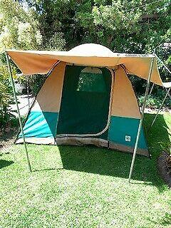 Special bow canvas dome tent 6 sleeper