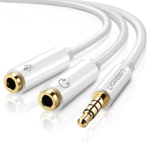 Ugreen 3.5mm male to 2x female headset splitter