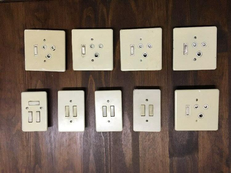 Used plugs & light switches for sale