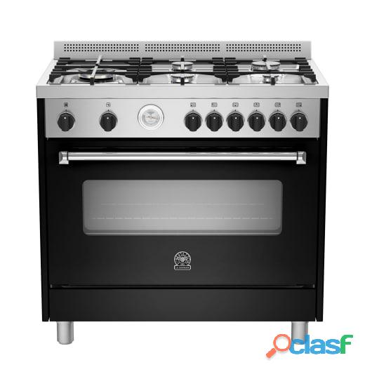La germania 90cm americana gas stove black
