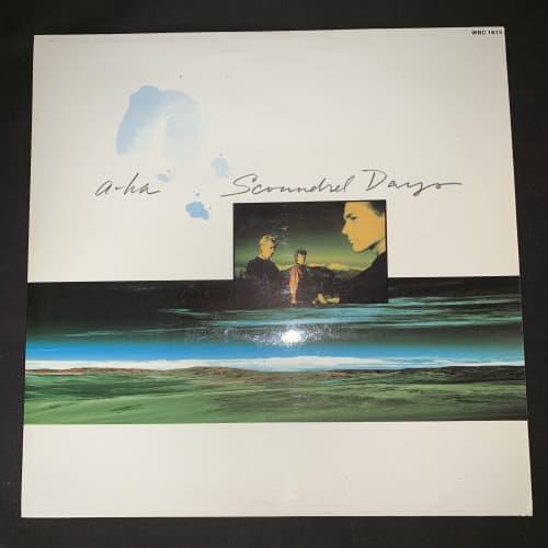 A-HA - Scoundrel Days (LP) Vinyl Record (2nd Album)