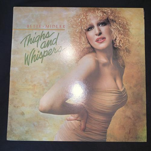 Bette Midler - Thighs And Whispers (LP) Vinyl Record