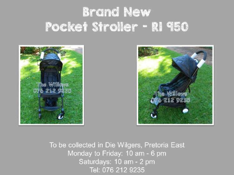 Brand new pocket stroller