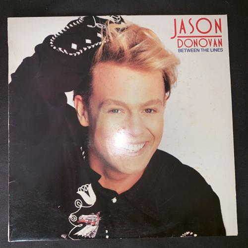 Jason Donovan - Between The Lines (LP) Vinyl Record (2nd