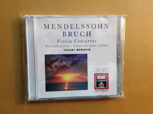 Mendelssohn & Bruch Violin Concertos; Yehudi