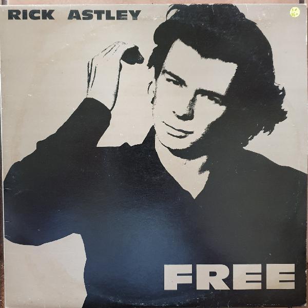 Rick Astley - Free - Vinyl LP Record - Very-Good+ Quality