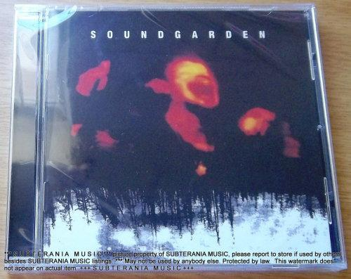 SOUNDGARDEN Superunknown EUROPE