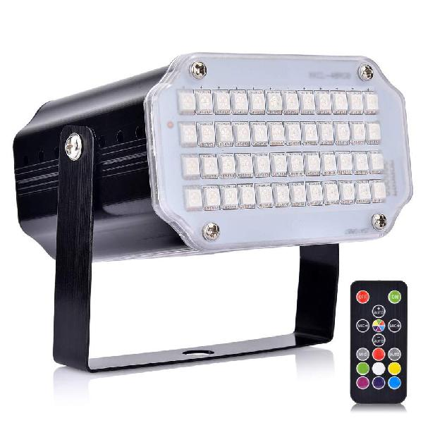 YZHI Strobe Lights for Parties 48 RGB LED Sound Activated