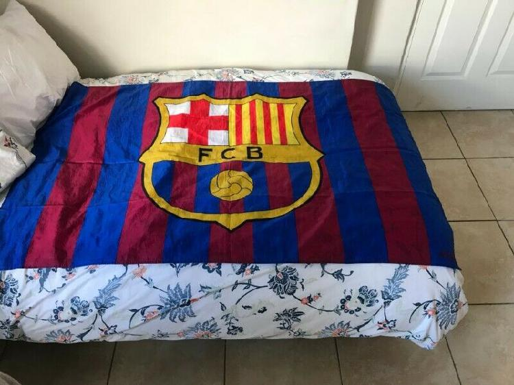 Authentic barcelona (fcb) football jersey + large fcb