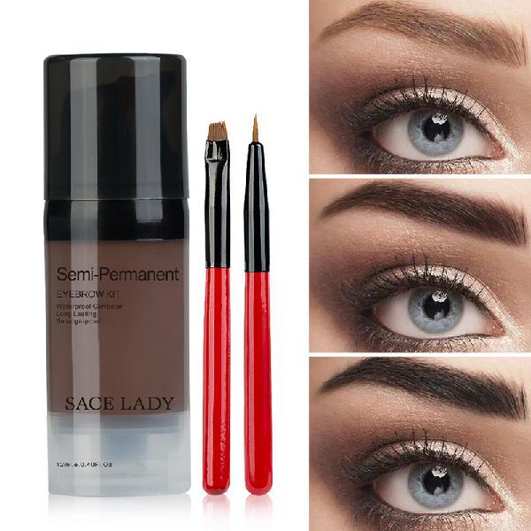 Eyebrow gel dyed cream waterproof lasting eyebrow tint with