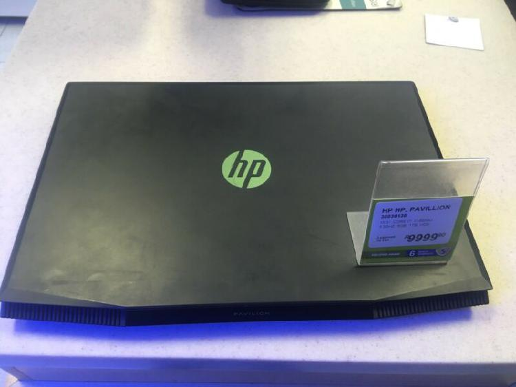 Hp pavilion i7- 8th gen laptop