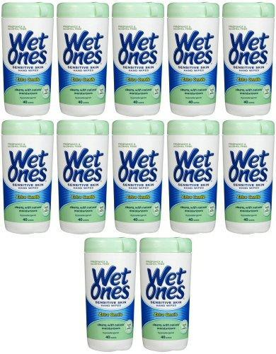 Wet Ones Extra Gentle Sensitive Skin Wipes 480ct (12 x 40ct)