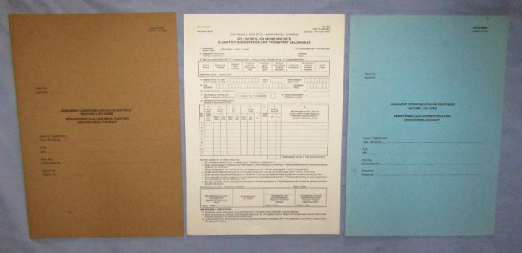 3 Unused SADF Files and Forms