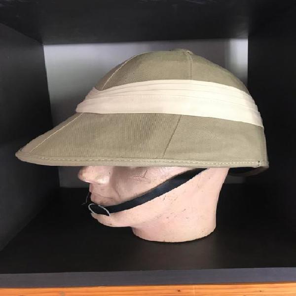 Original rhodesian bsap helmet-maker labelled-size