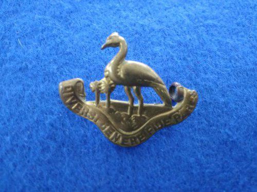 Rare! Northern Rhodesia Regiment single collar badge