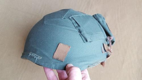 "Sa sf ""recce"" olive green variant urban helmet cover (only"