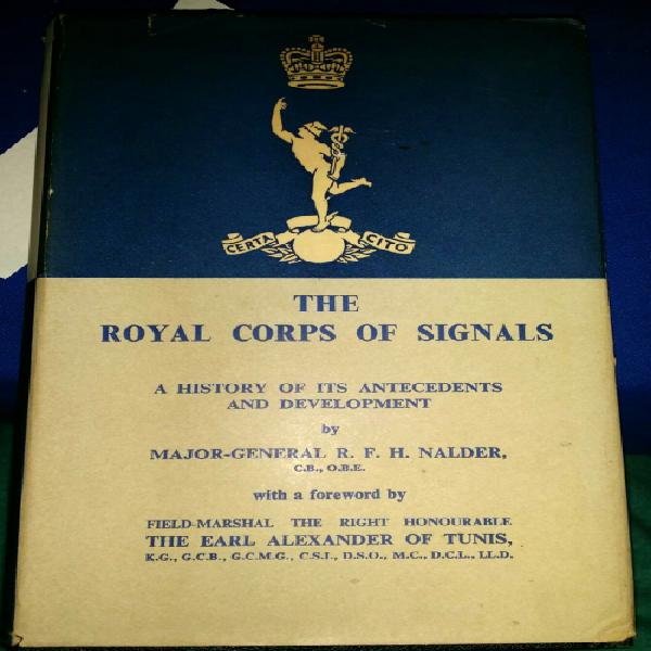 The royal corps of signals a history of its antecedents and