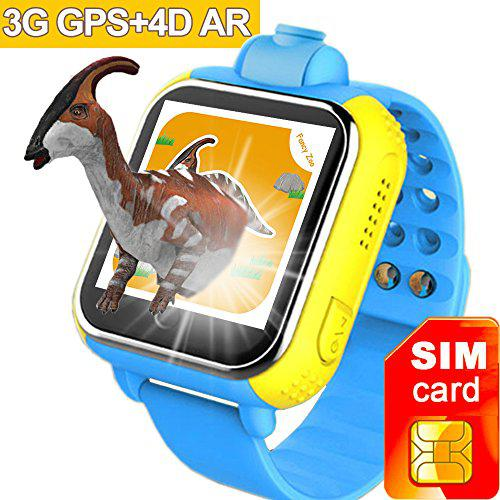3G GPS Tracker Kids Smart Watch TURNMEON Wristwatch with SIM