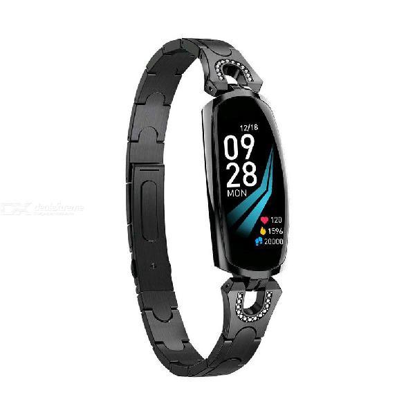 Ak16 fashion female smart wristband heart rate blood